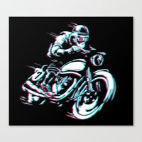 HIPSTER HOT RIDE Canvas Print
