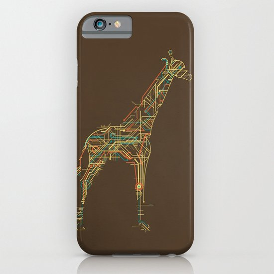 Electric Giraffe iPhone & iPod Case