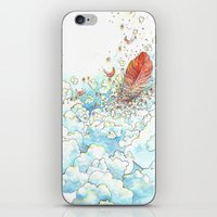 Feather Bed iPhone & iPod Skin