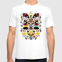 Morning Apple Mens Fitted Tee White SMALL