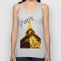 The Eiffel tower Unisex Tank Top