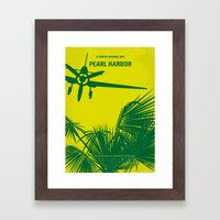 No335 My PEARL HARBOR Mi… Framed Art Print