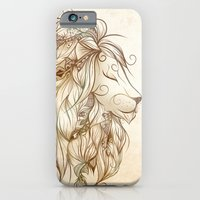 iPhone & iPod Case featuring Poetic Lion  by LouJah
