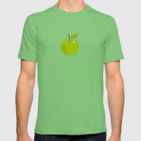 Apple 25 Mens Fitted Tee Grass SMALL