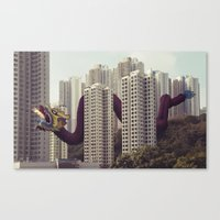 遙遠的呼應 / Distan… Canvas Print