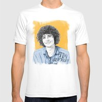 Tim Buckley Mens Fitted Tee White SMALL