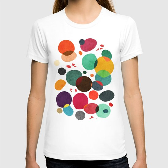 Lotus in koi pond T-shirt