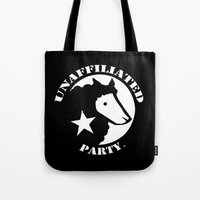 UNAFFILIATED PARTY STENC… Tote Bag