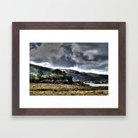 Loch Ailort, Scotland Framed Art Print