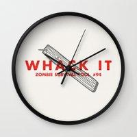 Whack It - Zombie Surviv… Wall Clock