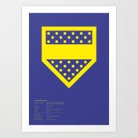 Boca Juniors Art Print