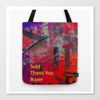 Sold Thank You Buyer Canvas Print