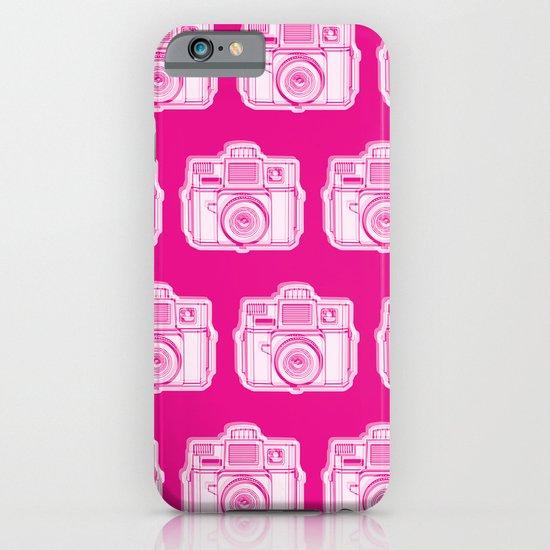 I Still Shoot Film Holga Logo - Reversed Pink iPhone & iPod Case
