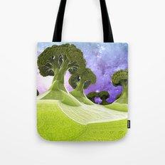 Broccoli Planet / / #fractal #fractals #3d Tote Bag