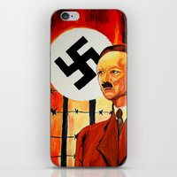 Hitler: The Face Of Hate… iPhone & iPod Skin
