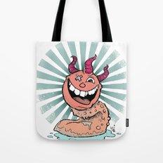 Tongue Creature Tote Bag