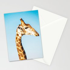 Portrait of a Giraffe Stationery Cards