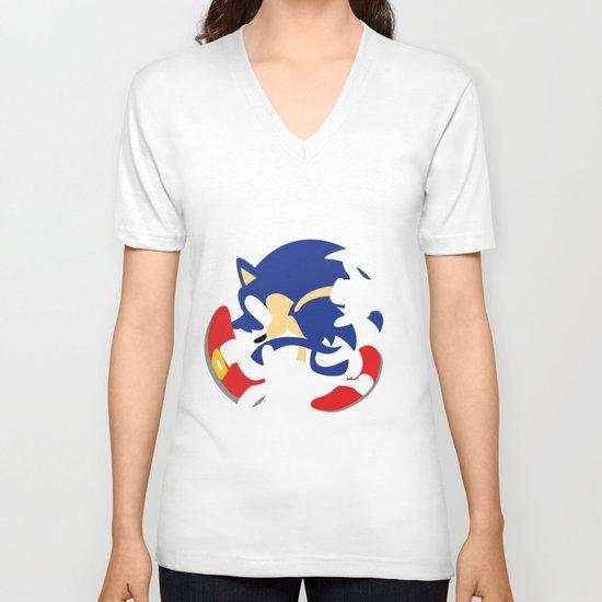 Sonic V-neck T-shirt