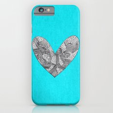 Patterned Heart iPhone 6s Slim Case