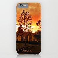 Sky at dusk. iPhone 6 Slim Case