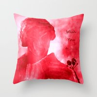 Wish You a ........ Throw Pillow