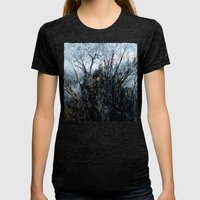 Winter Thing Womens Fitted Tee Tri-Black SMALL