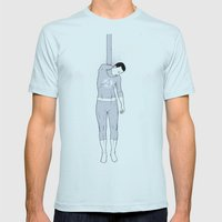 Fantastic Mens Fitted Tee Light Blue SMALL