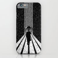 iPhone & iPod Case featuring Winter's Long Road by Dianne Delahunty