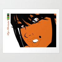 Pop 02 Close Art Print