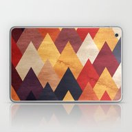 Eccentric Mountains Laptop & iPad Skin