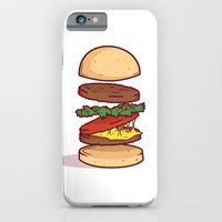 iPhone Cases featuring Burger  by Becceve
