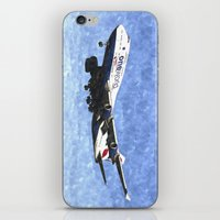 One World Boeing 747 Art iPhone & iPod Skin