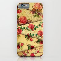old roses texture - for iphone iPhone 6 Slim Case