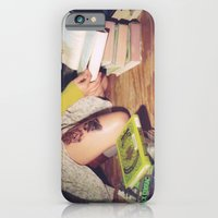iPhone & iPod Case featuring Bookish 04 by Holly Cromer