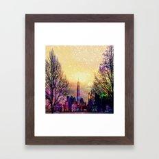 Space Manhattan Framed Art Print