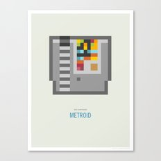 Metroid Cartridge Canvas Print