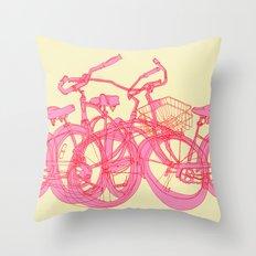 It's WHEELIE cool Throw Pillow