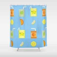 Juice Pattern  Shower Curtain