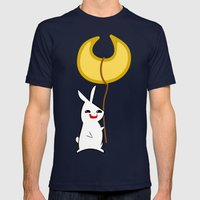 LuLu & BunBun Mens Fitted Tee Navy SMALL