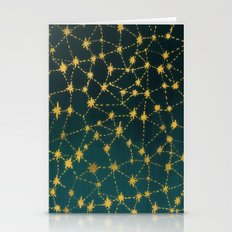Stars Map Stationery Cards