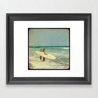 Girls of summer ttv Framed Art Print
