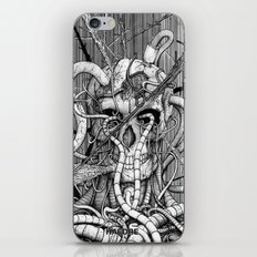 de hypterion I - The guardian - skull iPhone & iPod Skin