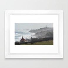 Castillo San Felipe del Morro - Puerto Rico Framed Art Print