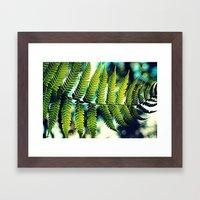 Fern For You Framed Art Print