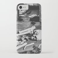 death iPhone & iPod Cases featuring Death by Sarah Van Neyghem