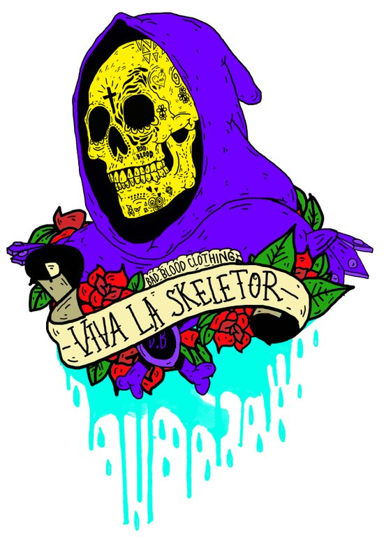 Viva La Skeletor Art Print