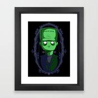 Hey Frankie! Framed Art Print