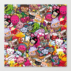 Supercombo #2 Canvas Print