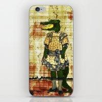 Crocogirl iPhone & iPod Skin