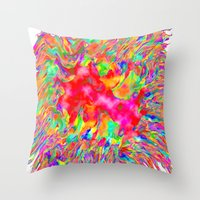 A Bundle Of Fun Throw Pillow